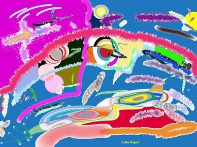 Another incredible digital graphic by Julius van der Wat