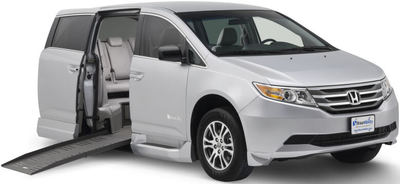 Braun 2011 Honda Odyssey Wheelchair Accessible Van