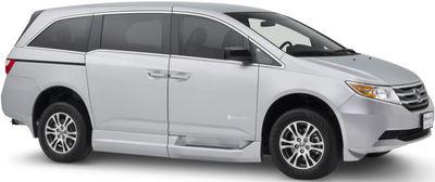 Side view of 2011 Honda Odyssey van