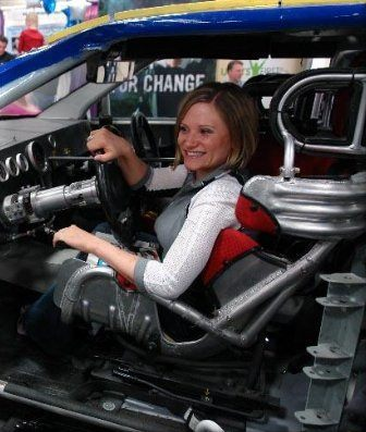 Image of an Accessible Racing Driver
