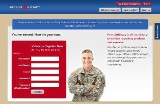 RecruitMilitary website image