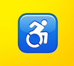 Accessible Icon Emoji