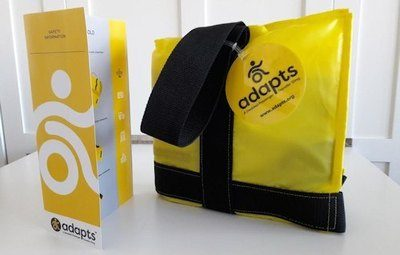 ADAPTS LLC launches a Kickstarter crowdfunding campaign for the first portable and affordable emergency sling for wheelchair users on an airplane. The sling is designed to quickly and safely evacuate people with disabilities or injuries from disasters. The convenient sling is easy for anyone to rescue people anywhere a stretcher cannot go, such as during floods, fires, hurricanes or earthquakes. Valuable time and lives can be saved by using A Disabled Passenger Transfer Sling (ADAPTS).