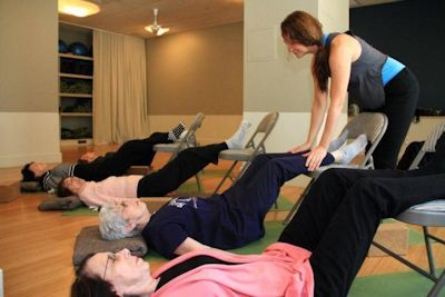 A study at Hospital for Special Surgery found supervised exercise classes benefit people with muscle and joint conditions. Photo Credit: Hospital for Special Surgery