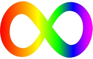 The Autism infinity symbol is becoming a popular alternative to the puzzle pieces autism symbols.