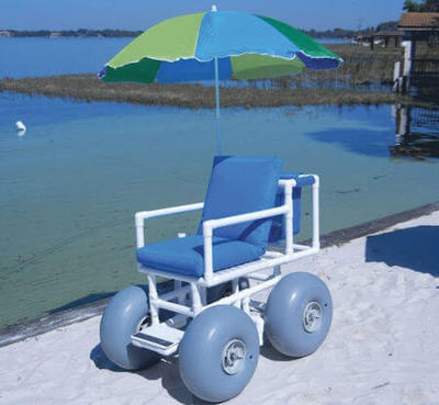 The popular Aqua Creek Beach Access wheelchair.
