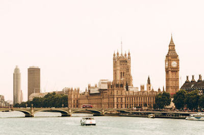 House of Parliament and Big Ben as seen from across the Thames River, London, United Kingdom (U.K.) - Photo by Ugur Akdemir on Unsplash.