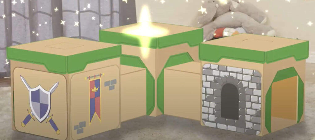 BigBoxPlay Castle - Screenshot from the video product example.