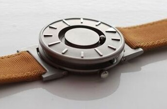 The Bradley timepiece tactile watch for the blind and people with vision loss as well as people who are sighted.