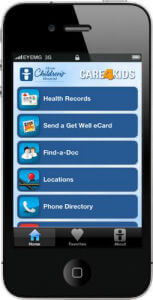 Akron Children's Hospital iPhone app