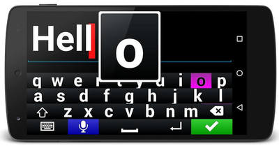 Claria Zoom Message Screen