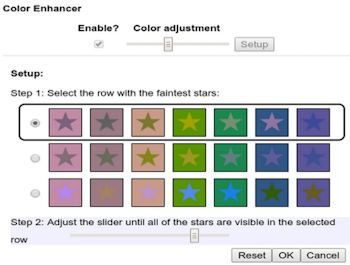 Color Enhancer for Google Chrome is designed for people who are color blind.