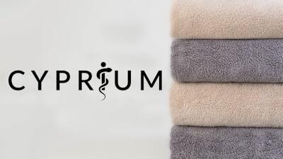 Cyprium Textiles copper towels