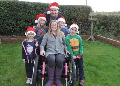 Danni Clarke and Family