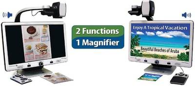 Enhanced Vision DaVinci Pro Full HD Magnifier and Full Page Text-to-Speech.
