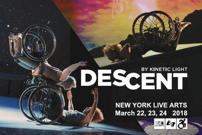 DESCENT Postcard NYC 2018 Access Icons