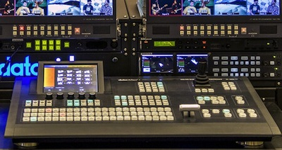 Photo shows modern digital equipment featuring video, film, and media technology.