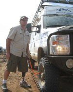Lance Blair with the Disabled Explorers WAVE, the Wheelchair Accessible Van for Expeditions