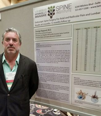 Dr. Rappard presents his data at the SIS 23rd annual scientific meeting