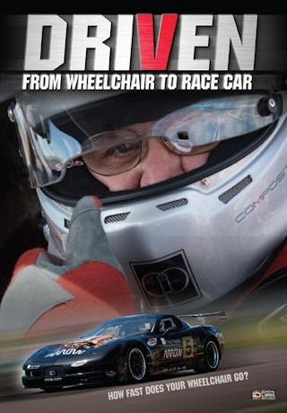 Driven: From Wheelchair to Race Car DVD Cover