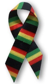 The colors of the #TackleEbola ribbon are inspired by the flags of the West African nations most significantly impacted by the outbreak: Guinea, Liberia and Sierra Leone.