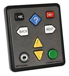 The new EZ08 with audio, one of several new audio enabled navigation keypads from Storm Interface