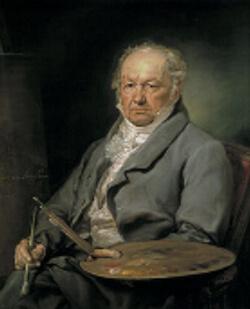 Portrait of Goya by Vicente López Portaña, c. 1826. Museo del Prado, Madrid.