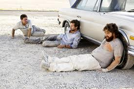Picture from a scene in the movie The Hangover