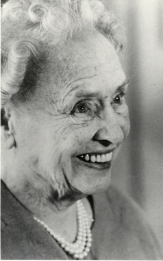 Helen Keller at age 79 years.