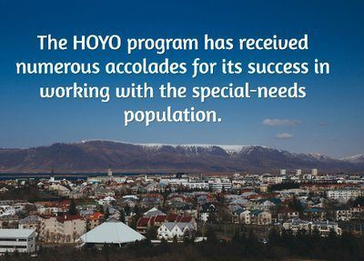 The HOYO program has received numerous accolades for its success in working with the special-needs population.