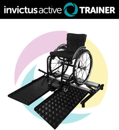Invictus Active Trainer Wheelchair Without User