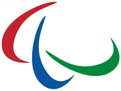 The logo of the International Paralympic Committee (IPC) since 2004.