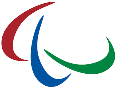 IPC Symbol used as the Paralympic Logo and Flag.