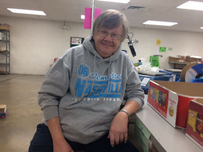 Employee Jane Howell has worked at JSI for 40 years. She enjoys involvement with the Special Olympics when not at work.