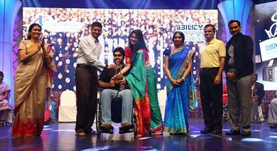 Mr. Jaskaran Singh - Awardee Cavinkare Ability Awards 2017