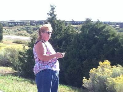 Image of Kat at Mesa Verde Park
