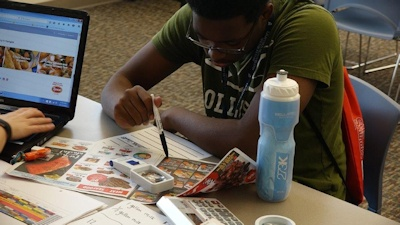 SOAR Learning to Budget - Photo Credit: Lighthouse for the Blind-Saint Louis