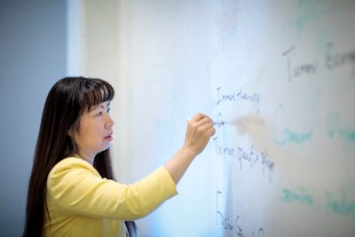 Li Ding, PhD, led a team that analyzed DNA from more than 11,000 tumors across 33 cancer types. The project is part of The Cancer Genome Atlas, a national program aimed at understanding the genetic roots of cancer - Photo Credit: Washington University School of Medicine in St. Louis.