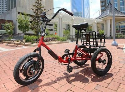 The Red Electric Liberty Trike