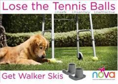 Lose the tennis balls
