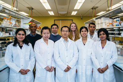 New findings by UH biomedical engineer Chandra Mohan and his team raise hope for a new class of drugs to treat lupus that may not include the long list of adverse risks and side effects often associated with current treatments. Photo Credit: Cullen College of Engineering Office of Communications