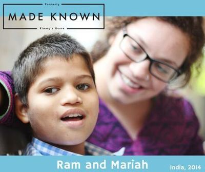 Mariah is laying the foundation for an outreach and advocacy program in India.