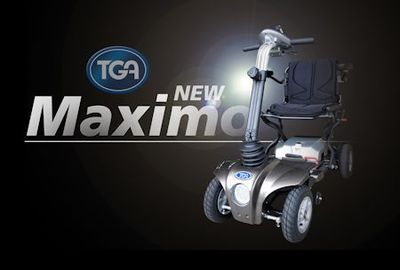 Picture of the Maximo 4 wheel scooter