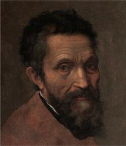 Portrait of Michelangelo by Daniele da Volterra.