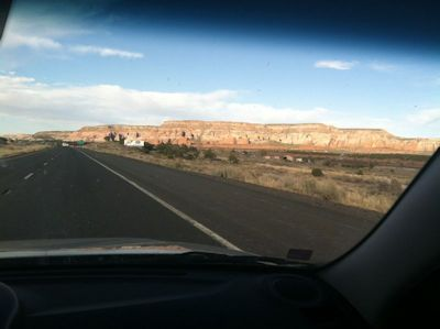 Image of a Butte in New Mexico