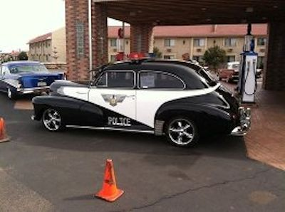 Image of a 1941 police car