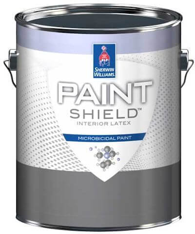 Sherwin-Williams Microbicidal Paint Shield Can - Image Provided Courtesy of The Sherwin-Williams Company