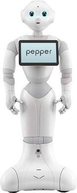 Image of Pepper, a personal robot
