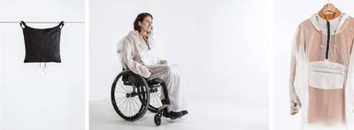 Pilius raincoat for wheelchair users