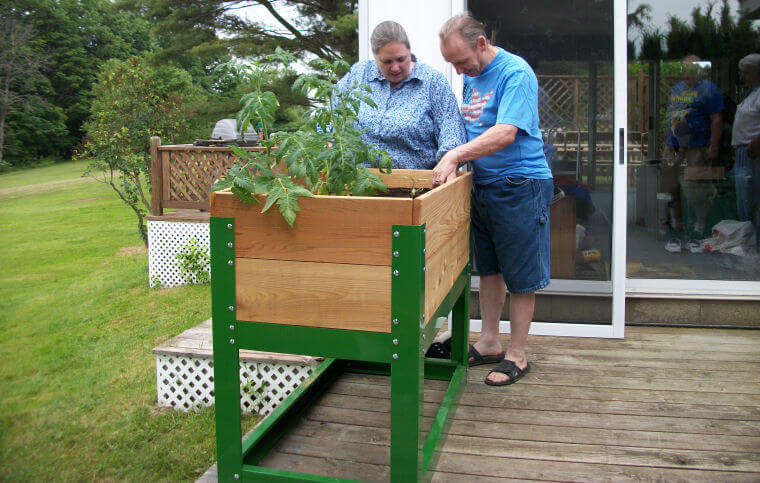 Raised garden beds a growing trend disabled world for Garden design for disabled